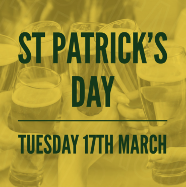St Patrick's Day at Cargo