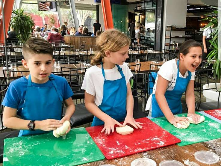 Kids Pizza Making Class