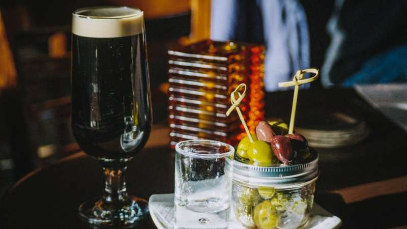 Guinness on St Patrick's Day